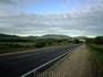 по дороге с облоками, до дома 1200км.