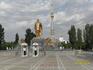 Памятник Туркменбаши!