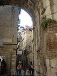 Сплит, вход в город со стороны Золотых ворот