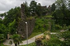 Крепость по пути в Уреки
