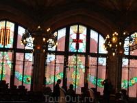 Барселона (март 2011) Дворец Каталонской музыки