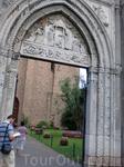 Равенна-вход в храм,где ведутся раскопки древних фресок