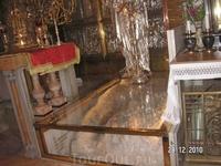 В Храме Гроба Господня. Голгофа