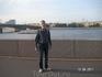 На на бережной Робеспьера. Вид на Литейный мост