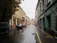 на улицах Черновцов