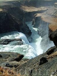 Золотой водопад Гюльфосс