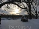 Знаменитые Борисовы камни, точнее один из знаменитых Борисовых камней. Зачем их ставили наши славянские предки по берегам рек неизвестно, но, наверно, ...
