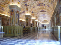 кружева бесконечных коридоров Ватикана
