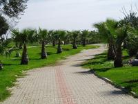 парк рядом со старым Сиде