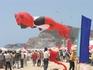 Международный фестиваль воздушных змеев.Лежачий медведь.