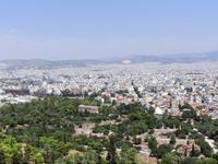 Вид с Акрополя на Агору и храм Гефеста. Храм Гефеста – это одно из хорошо сохранившихся древних зданий, а потому оно и самое удивительное на территории ...