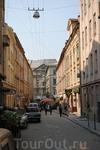 Староеврейская улица. Когда-то здесь было еврейское гетто. Не любили евреев и здесь