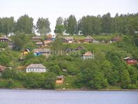 Левый берег Плёса.