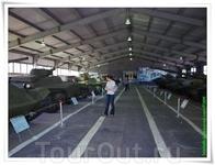Павильон №3. Советские лёгкие танки.Павильон №3. Советские лёгкие танки.
