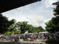 паркинг в аэропорту о. Бали