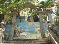 Один из монастырей Вунгтау.Случайно забрели.