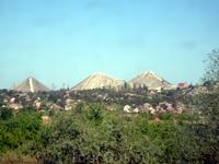 Шахты недалеко от Донбаса