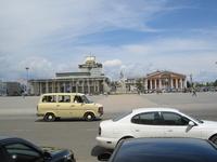 это площадь Сухэ-Батора - центральная площадь в славном городе Улан-Баторе