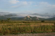 Дорога из Находки в Лазо. Такой вот пейзаж.