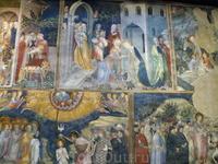 Урбино, Oratorio di San Giovanni Battista. Роспись братьев Лоренцо  и Якопо Салимбени.
