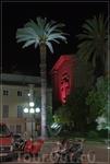 ночная Ницца,церковь Сакре Кёр
