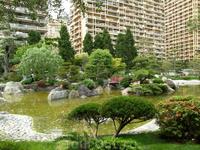 Японский садик в центре Монте-Карло