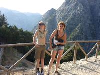 ущелье Самария (16 км) - перед началом спуска