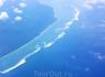 Подлетаем к острову Бали.  Волны уже в самолёте захватили душу !!!