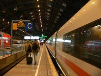 немецкие поезда... Кельн