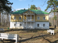 Барский дом А.А.Пушкина во Львовке.