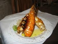 вкуснейший лобстер в ресторанчике Варадеро