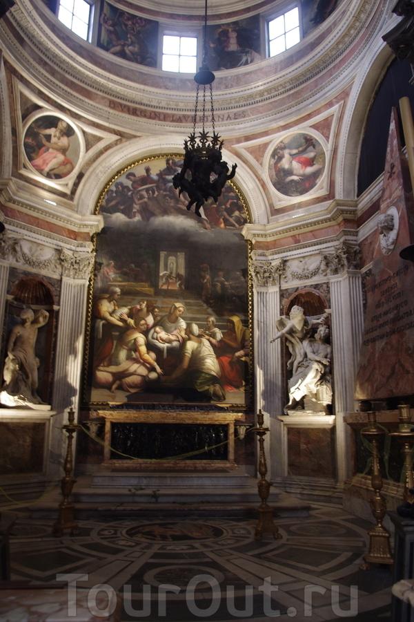 Капелла Киджи в Санта-Мария дель Пополо Фото 39 отчёта Рим, Лацио ...