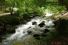 Новый Афон, ущелье реки по дороге к гроту Симона Канонита