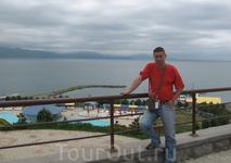 Во, как на Севане было холодно - аж согнуло