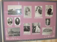 Фотографии бабушки, деда, матери, отца с сослуживцами, учительницы по фортепьяно С.В.Рахманинова. Новгород. 1870-е годы.