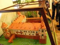 макет Мирского замка