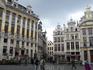 Брюссель.  Гран - Плас.Роскошь на фасадах  старинных  домов.