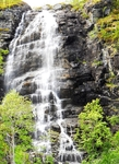 По пути очень много попадалось водопадов и один другого краше ! район Альты, июль 2011