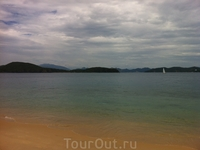 Пляж на Южных островах
