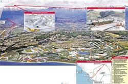 Карта олимпийского Сочи