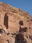 Фасады древней Петры