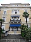 Вилла Амалия, пристройка к отелю Кварнер, но моложе основного здания всего на каких-то пару лет
