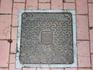В эту поездку я снимала канализационные люки с гербами посещенных городов. Вот первый из коллекции - с гербом Авилы.