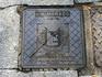 Раз уж зашла речь о гербе города, то напоследок его изображение на люке. В Саламанке моей добычей стали две версии герба. Эта постарше.