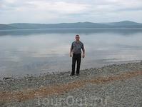 На берегу Тургояка
