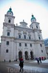 Главный собор Зальцбурга - Моцарт там играл на органе до 13 лет.