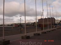 вид из окна конгресс-центра Paviljonki