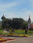 Ну как же в российском городе без площади Ленина? Псков - не исключение.