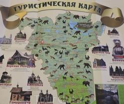 Карта Подпорожского района Ленинградской области