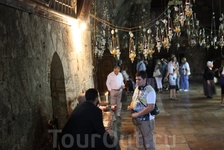 У армянской часовни в Гефсимании